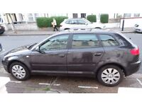 Audi A3, 1.6, 5 Door, Grey, 56 plate, low mileage and generally in great condition