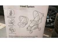 Fisher price travel system BNWT pram & carseat