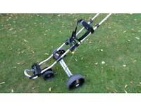 Powakaddy Quattro push trolley