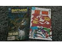 Vintage Batman Comics x 2 - excellent condition