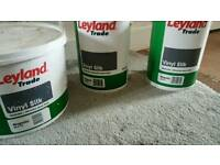 20 litres of Leyland vinyl silk magnolia paint