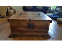 Large Coffee Table / Wooden Chest
