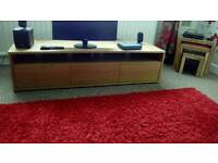 Pine TV unit new upto 60inch TV on it