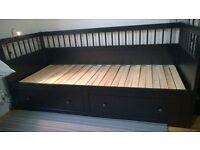 'Ikea Hemnes' Sofa-Bed-Storage, 2y old, excellent condition