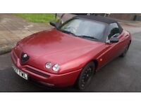 Alfa Romeo Spider Convertible 2.0 16v T Spark £799 or swap