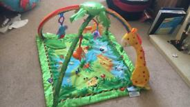 Fisherprice Rainforest Playmat