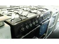 BRAND NEW OUT OF BOX black , flavel range cooker for sale- warranty included