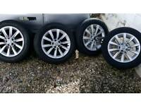 "Genuine VW 17"" Alloy Wheels to fit Transporter T4"