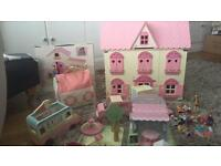 ELC Rosebud house and accessories....