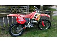 1991 Honda CR 125 vintage EVO Motocross bike