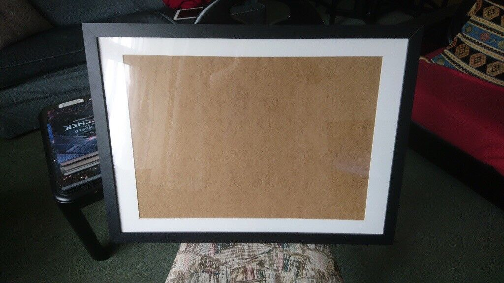 Black picture frame for A2 image