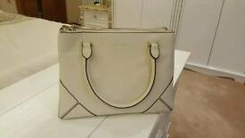 Brand new CHARLES KEITH handbag in white/cream