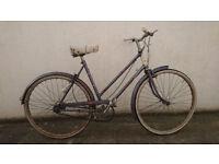 Women's vintage Raleigh Caprice town bike