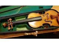 Old refurbished violin