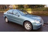 2002 Automatic Mercedes C220 CDI Elegance Auto 5 Door 1 YEAR MOT Full Service History..
