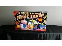 Marvin's amazing trick set & kerplunk board game