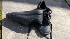 Boys school shoes, size 4, nike