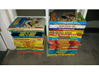Selection of 46 comic annuals