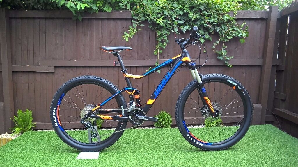Giant Stance 2017 Full suspension Mountain Bike, used twice | in ...