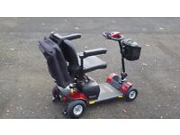 go go elite traveller plus 4 mobility scooter 14 months old hardly used