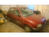 Nissan micra lx 1.3, 1995, 64,000 miles Red