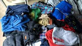 Bundle of boys clothes 9-11