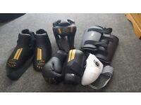 Taekwondo sparring kits