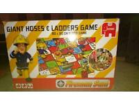 Fireman Sam hose and ladders game