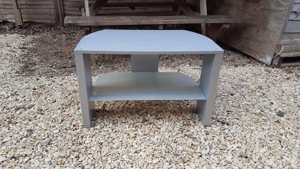 Grey TV bench