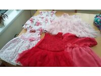 Baby girl dresses 9-12months. 5 Beautiful baby girls dresses .