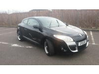 2011(11)RENAULT MEGANE COUPE 1.5 DCi EXPRESSION BLACK,LOW MILES,NEW MOT,£30 TAX,CLEAN CAR