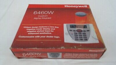 Honeywell 6460W Premium Alpha Security Keypad, White and Grey