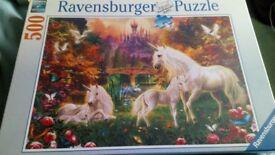 Unicorn Puzzle - Brand New -Unwanted Present