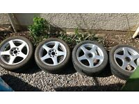 "Alloys 15"" multi-fit 4 stud"