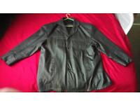 Mens Avanti XXXL genuine leather jacket