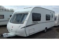6 BERTH 2007 ABBEY FREESTYLE 560. EXCELLENT. WITH BUNKS MOTOR MOVER AWNING ALL ACCESSORIES FOR HOLS.