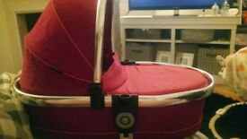icandy peach 3 fushia lower carrycot