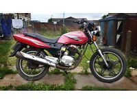 2012 Sukida 125cc Motorbike *On/Off Road* Honda Replica