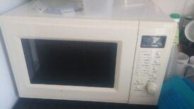 Microwave. Great for heating up porridge.
