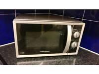 Morphy Richards 800w microwave (+ free hand blender)