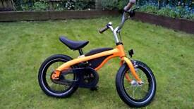 BMW genuine childrens kids 2 in 1 balance training bike girl boy unisex orange
