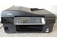 Epson WIFI multifunction printer, scanner, copy, fax (clogged printer heads)
