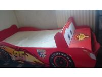 Disney Cars Bed with matteress