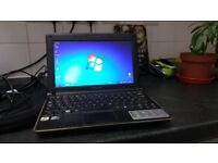 Samsung N140 netbook, Atom 1.66Ghz, 2gb ram, 250gb hdd, 4hr battery