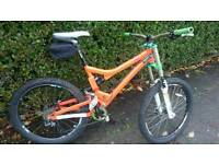 Commencal meta downhill mountain bike