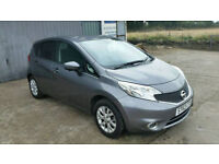 Nissan Note Acenta Premium 1.2L Petrol, MOT Nov2018 !! NATIONWIDE CAR PROTECTION 12 MONTH INCLUDED!!