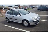 Volkswagen Golf Petrol Automatic 1.6 FSI S 5 Door Hatchback 2005, 48636 miles. SALE £3600 London