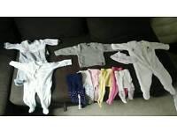 Baby girl bundle 0/6 months