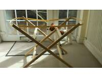 Moses basket stand.