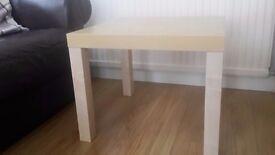 Ikea beech effect side table